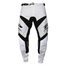 Progrip 6010-18 Adult Motocross Pants White-Black