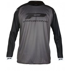 Progrip 7010-18 Adult Motocross Shirt Grey-Black