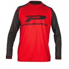Progrip 7010-18 Adult Motocross Shirt Red-Black