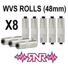 Rip n Roll WVS 48mm Roll Off Films x 8