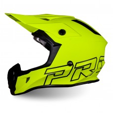 Progrip 3180 ABS Motocross Helmet Fluorescent-Yellow Matt