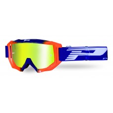 Progrip 3200/19/FL Venom Motocross Goggles Fluorescent Blue-Flo Orange