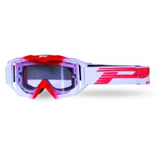 Progrip 3200/19 Light Sensitive Venom Motocross Goggles Red