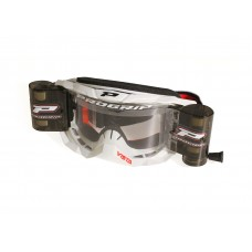 Progrip 3303 Vista Goggles with WVS 48mm Roll Off System White Frame