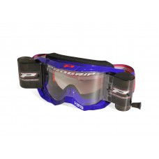 Progrip 3303 Vista Goggles with WVS 48mm Roll Off System Blue Frame