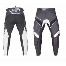 Progrip 6010-19 Adult Motocross Pants Black-White