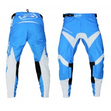 Progrip 6010-19 Adult Motocross Pants Light Blue-White
