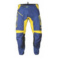 Progrip 6015 Adult Motocross Pants Navy Blue -Yellow -Eco