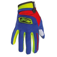 Progrip 4010-341 Motocross- Off Road Gloves Flo Yellow-Blue-Red