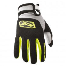 Progrip 4010-343 Motocross- Off Road Gloves Flo Yellow-Black