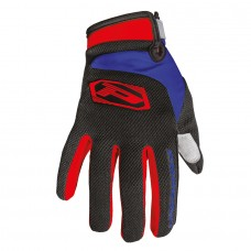 Progrip 4010-344 Motocross- Off Road Gloves Red-Black-Blue