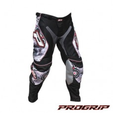 "Progrip 6009 Youth Motocross Pants Orange Rings 26""Waist"