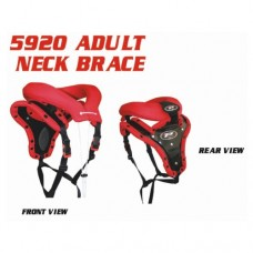 Progrip 5920 Adult Neck Protector Red