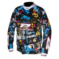 Progrip 7009 Youth Motocross-Off Road Shirt  Multicolour